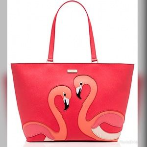 KS Flamingo Take A Walk Tote